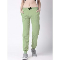 WOMEN OLIVE SOLID TRAINING TRACK PANT MANUFACTURER