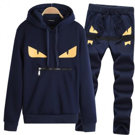Mens Little Monster Prints Designer Tracksuits