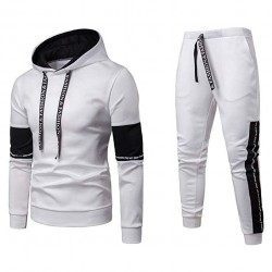 2019 Men's Jogging Tracksuit Patchwork