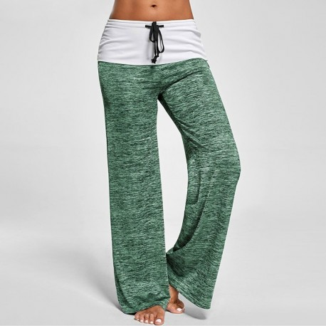 Yoga  relax trouser Soft Marled Pants Manufacturer & Supplier